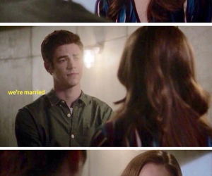 cw, funny, and the flash image