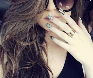cute hair, nails, and cute nails image