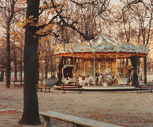 carousel, film, and nature image