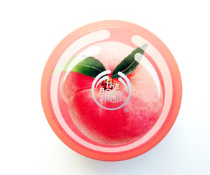 body shop, peach, and pink image