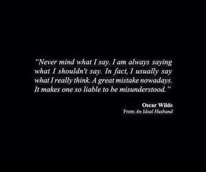 oscar wilde and quote image