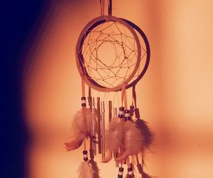 beautiful, bohemian, and dream catcher image