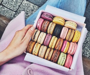 beautiful, colors, and macaroons image