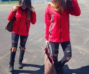 girl hair nike destroy lv image