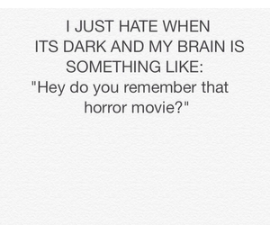 dark and horror image