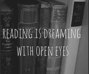 books, Dream, and eyes image