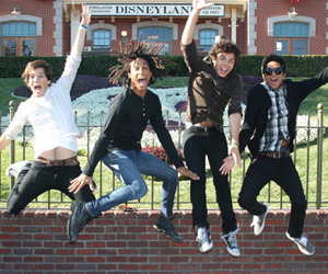 allstar weekend, cameron, and zach porter image