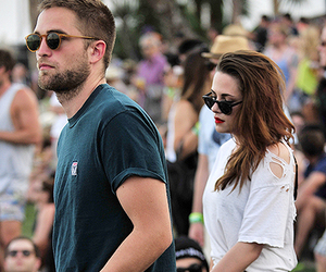 robert pattinson, kristen stewart, and Robsten image
