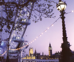 london, Big Ben, and light image