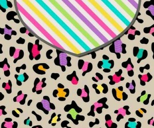 background, colorfull, and leopard image