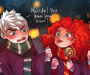 jack frost, merida, and the big four image