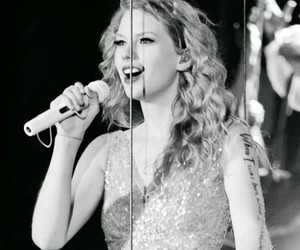 bw, live, and Taylor Swift image