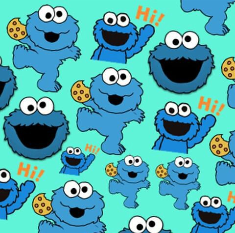Cookie Monster Uploaded By B On We Heart It