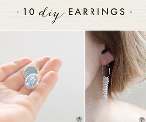 accessories, earrings, and diy image
