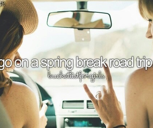 Road Trip, bucket list, and spring break image