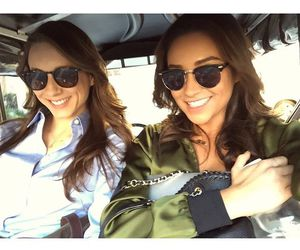 troian bellisario, shay mitchell, and pretty little liars image