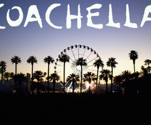 coachella, festival, and fun image