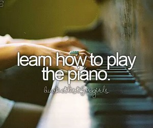 piano, before i die, and girl image