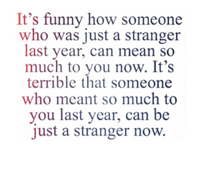 quote, strangers, and true image