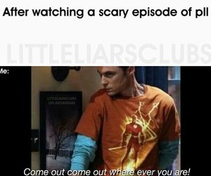 sheldon cooper, pretty little liars, and pll image