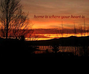 home, text, and love image