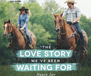 boy girl, horses, and nicholas sparks image