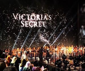 theme, Victoria's Secret, and dark image