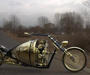 art, sculpture, and choppers image
