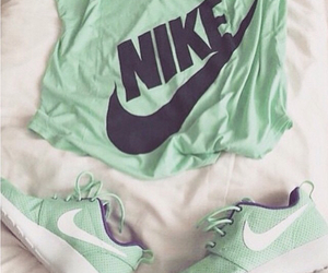 fashion, green, and nike free image