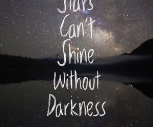 Darkness and stars image