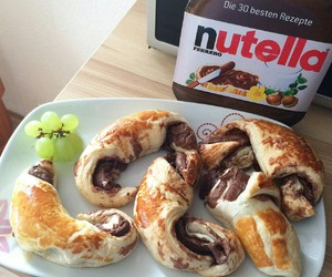 nutella, candy, and food image