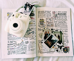diary, white, and indie image
