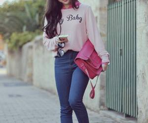 chic, fashion, and pink image