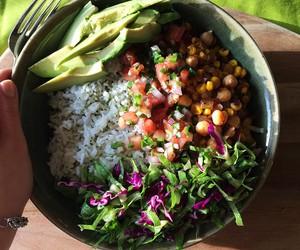 food, vegan, and fitness image