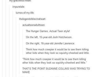 hunger games and tumblr image