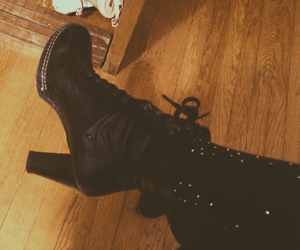 boots, high heels, and indie image