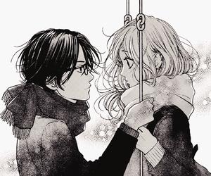 manga, couple, and usotsuki na pierce image