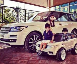 car, family, and range rover image