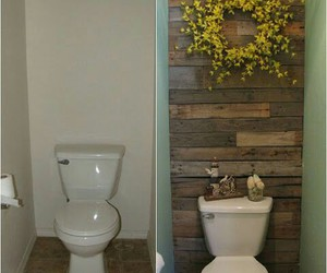 diy, bathroom, and toilet image