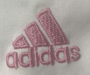 adidas, pink, and pale image