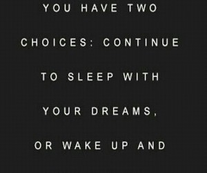 quote, Dream, and sleep image