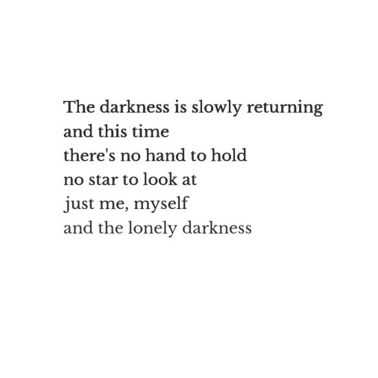 Darkness and sad image