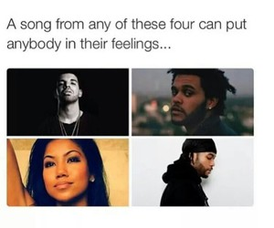 Drake, the weeknd, and jhene aiko image