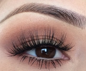 eyebrows, goals, and makeup image