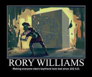 doctor who and rory williams image