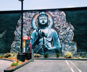 art, street, and Buddha image