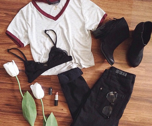 outfit, hipster, and clothes image