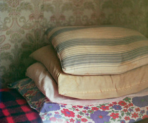 pillow, pillows, and vintage image