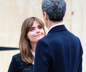 deep breath, clara oswald, and 12th doctor image