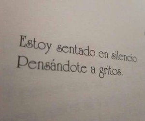 frases, silence, and book image